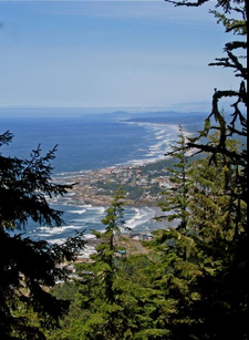 View Of Yachats From Perpetua