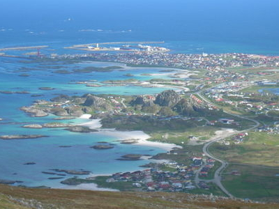 Village Of Andenes In Andy