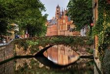View Old Bridge In Bruges