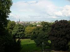 View On Berlin From Kreuzberg