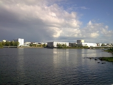 View Oulu Town In Finland