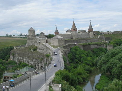 Castle In Kamianets Podilskyi