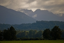 View Paparoa Range - West Coast NZ
