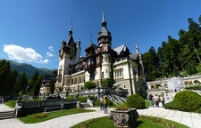 View Peles Castle Near Sinaia - Romania