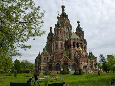 View Peterhof At Saint Petersburg