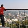 Viewpoint Of City From Pahari Mandir