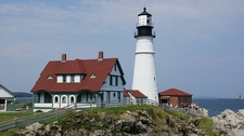 View Portland Head Light In Maine