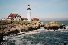View Portland Head Light - Maine