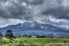 View Pouakai Range - Egmont NP - North Island NZ