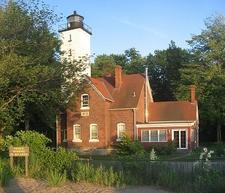 View Presque Isle Light - Erie PA