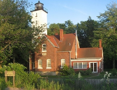View Presque Isle Light - Erie PA