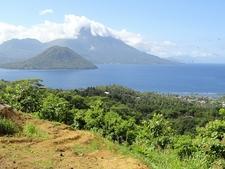 View Pulau Ternate - Maluku Islands