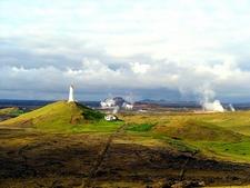 View Reykjanes Peninsula In Iceland