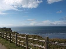 View Rhossili Bay - Wales UK