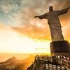 View Rio De Janeiro From Corcovado Hill In Brazil