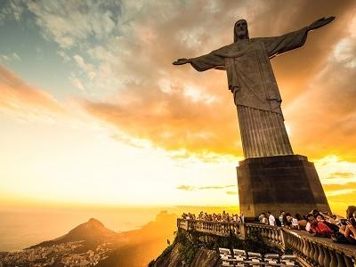 View Rio De Janeiro From Corcovado Hill