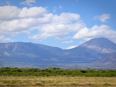 View San Cristobal Active Volcano
