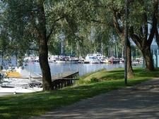 View Savonlinna Town In Finland