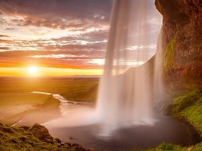 View Seljalandsfoss Waterfall - Iceland