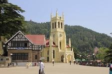 View Shimla Church HP