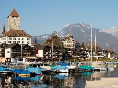 View Spiez Switzerland