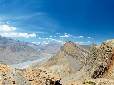 View Spiti Valley Right Bank - Himachal Pradesh