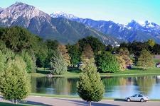 View Sugar House Park In Salt Lake City UT