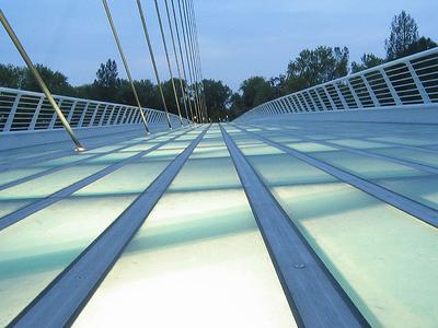 View SunDial Bridge - Redding CA