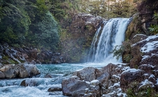 View Tawhai Falls @ Tongariro National Park NZ