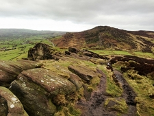 View The Roaches Landscape UK Staffordshire