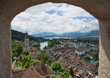 View Thun In Canton Of Bern - Switzerland