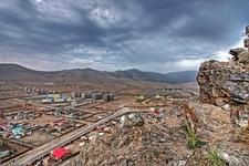 View Ulaanbaatar City From Zaisan Memorial