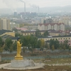 View Ulaanbaatar With Saisan Memorial Buddha Statue