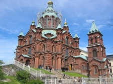 View Uspenski Cathedral In Helsinki