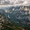 View Verdon Gorge In France