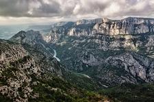 View Verdon Gorge In France
