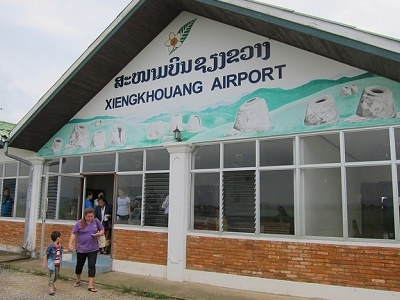 View Xiangkhouang Airport