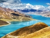 View Yamdrok Lake In Tibet Autonomous Region - China