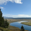 View Yellowstone River In Wyoming