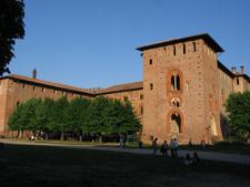 Court Of The Castello Sforzesco