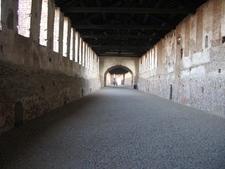 Road-gallery In The Castello Sforzesco