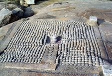 Vijayanagara Hampi Lingas Ruins - Karnataka - India