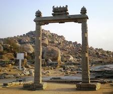 Vijayanagara King's Balance - Karnataka - India
