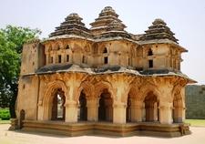 Vijayanagara Lotus Palace Ruins - Karnataka - India