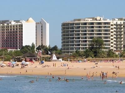 Marina Beach In Vilamoura