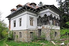 Villa Caprita Ruins - Sinaia