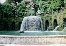 The Fontana Dell'Ovato - Oval Fountain
