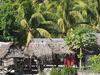 Village Huts In Tarawa
