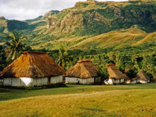 Village Of Navala - Fiji