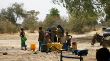 Village Pump In Burkina Faso